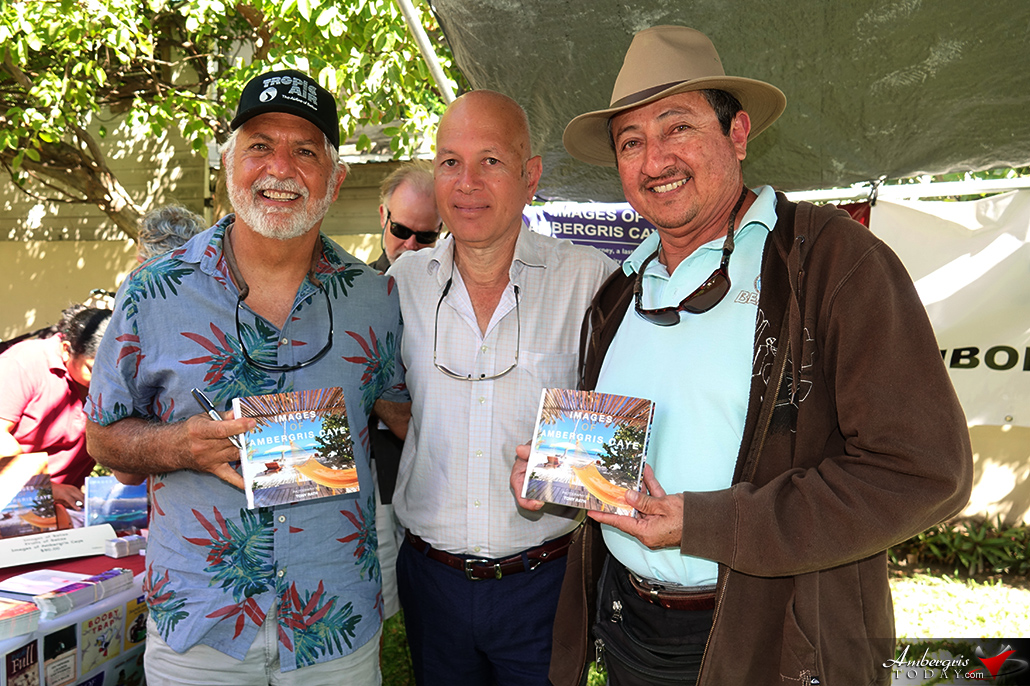 Images of Ambergris Caye Book Launch by Tony Rath