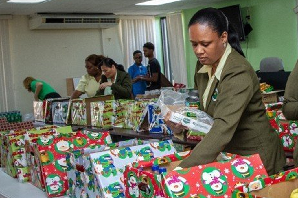 BEL Gifts 150 Families and the Elderly with Christmas Hampers