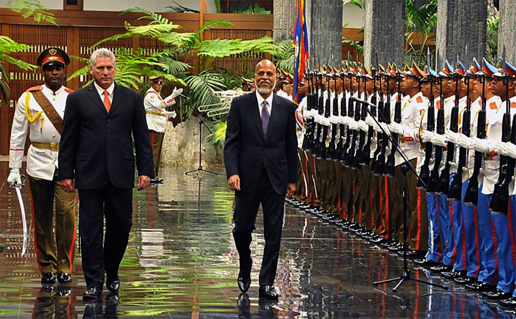 Prime Minister Dean Barrow on Official Visit to Cuba