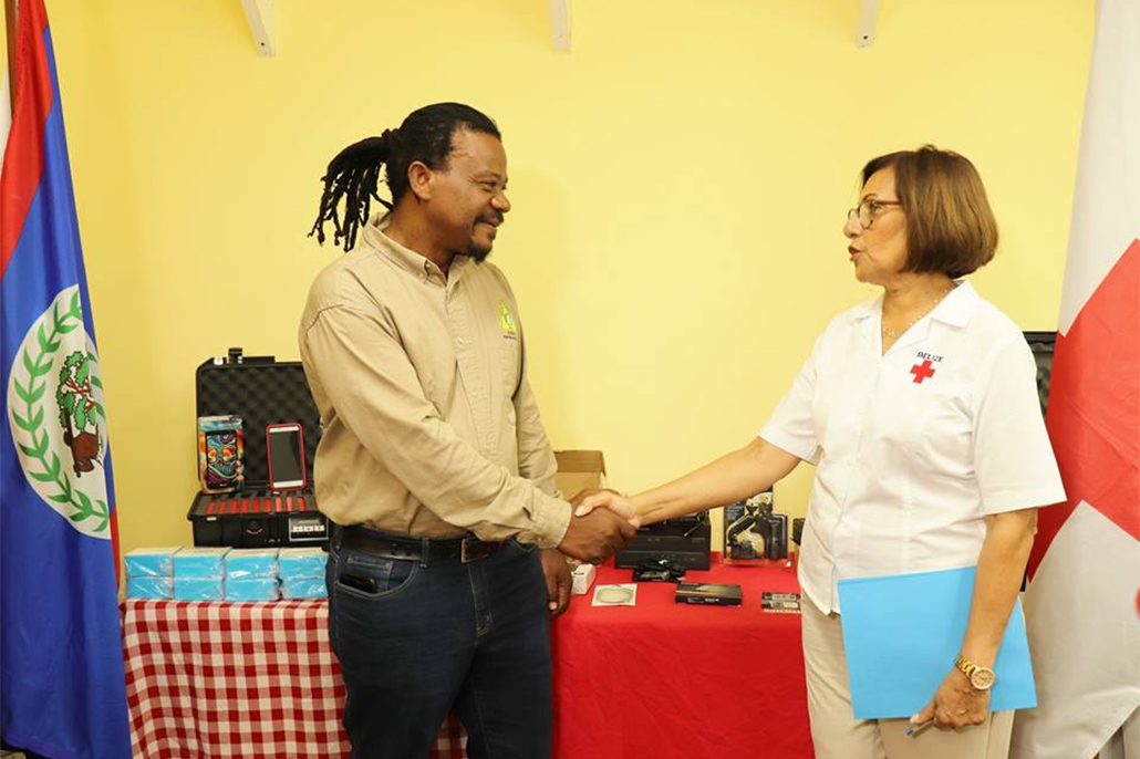 Belize Red Cross Trains & Donates Equipment To Nemo