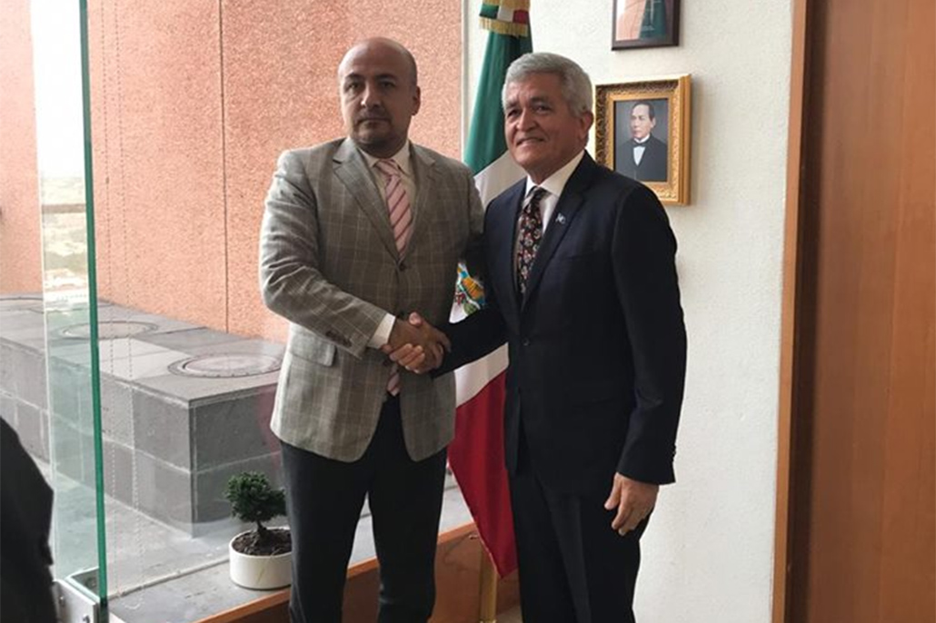 CEO in the Ministry of Foreign Affairs on Working Visit to Mexico