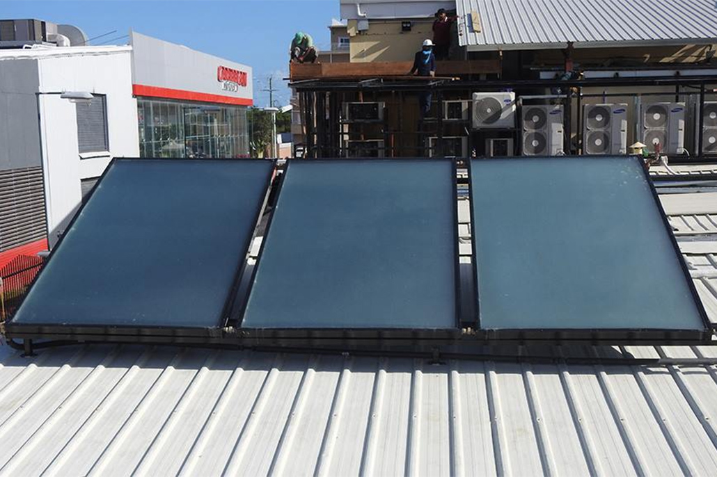The DFC & the Belize Biltmore Plaza Partner on a Solar Water Heating Demonstration Project