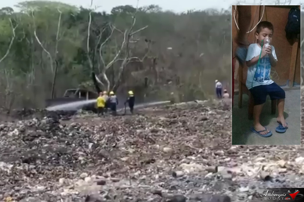 Northern Belize Affected by Burning Dumpsite in Mexico