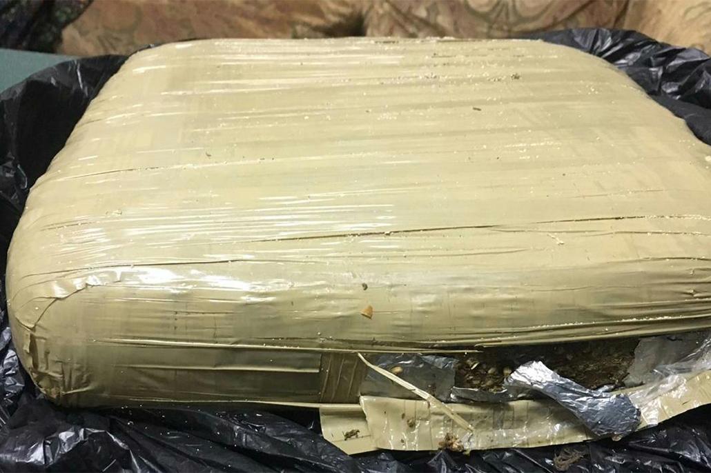 2.5 Kilos of Cannabis Found at San Pedro Cemetery