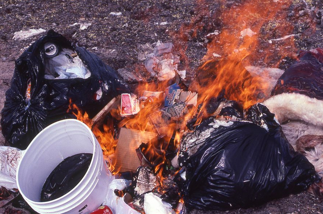 Burning Of Garbage Is Prohibited
