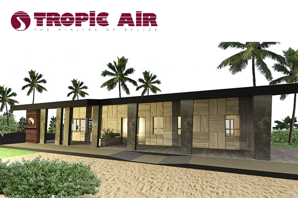 Construction Underway At Tropic Air's New $1Million Caye Caulker Terminal