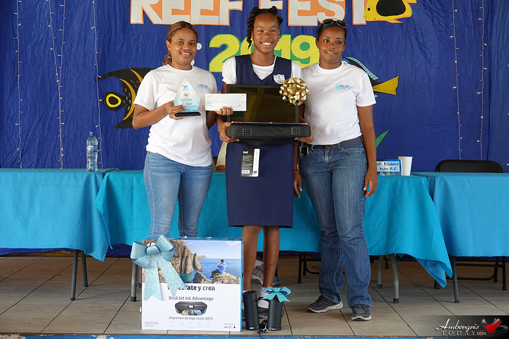 Kamryn Rhaburn of SPRCS Wins Reef Week Trivia Competition