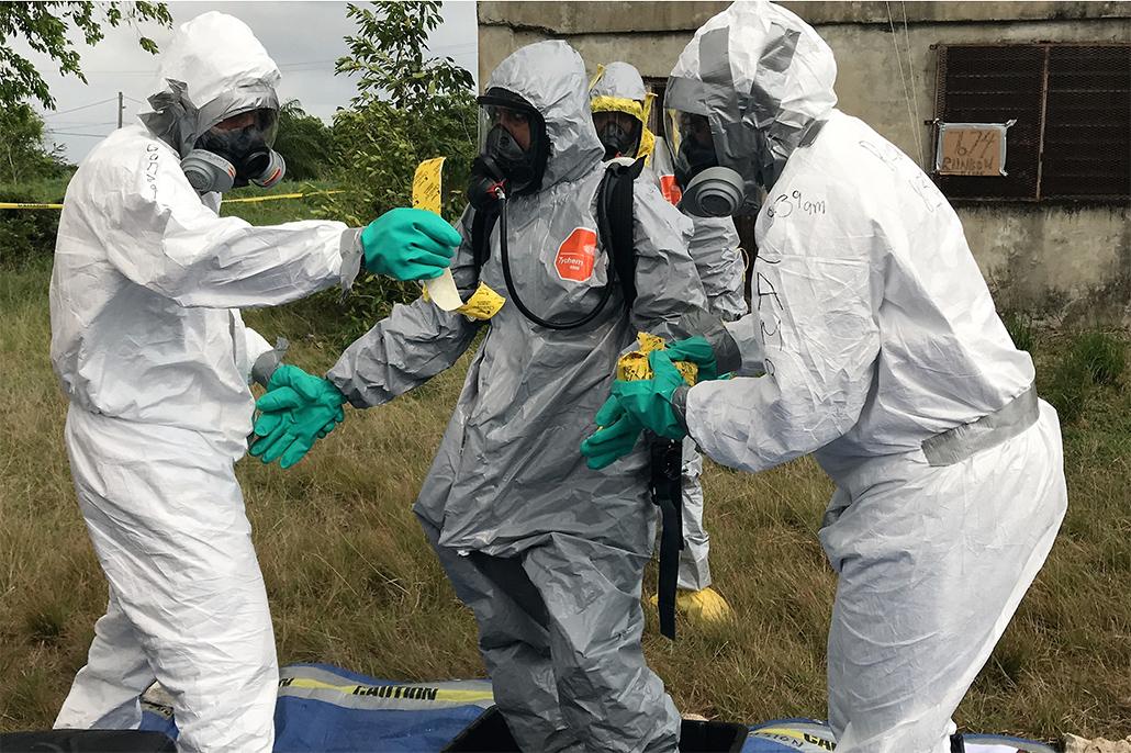 U.S. Government Sponsors Advance Precursor Chemical Investigation Training