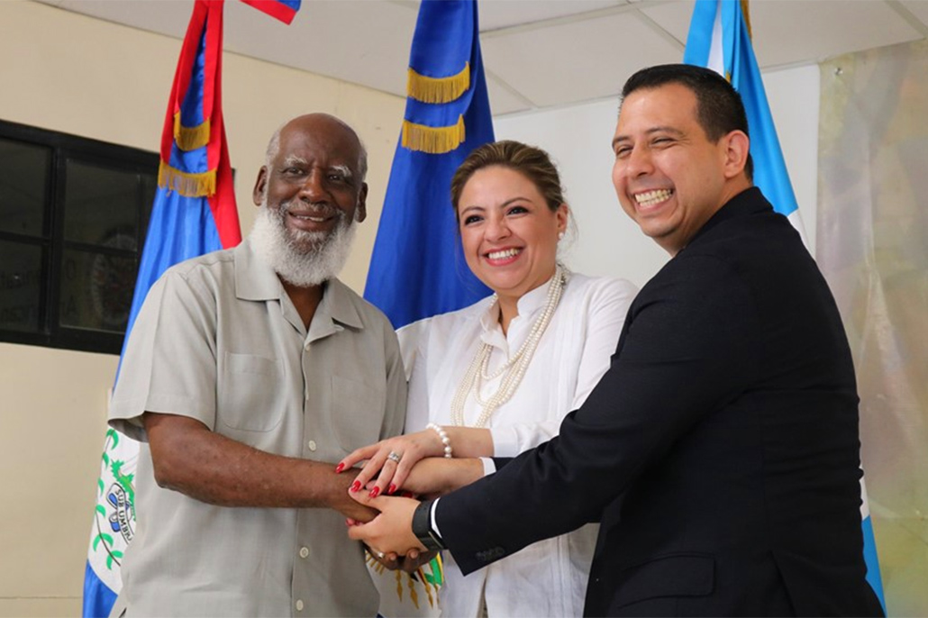 Foreign Ministers of Belize and Guatemala Meet at OAS Office at the Adjacency Zone