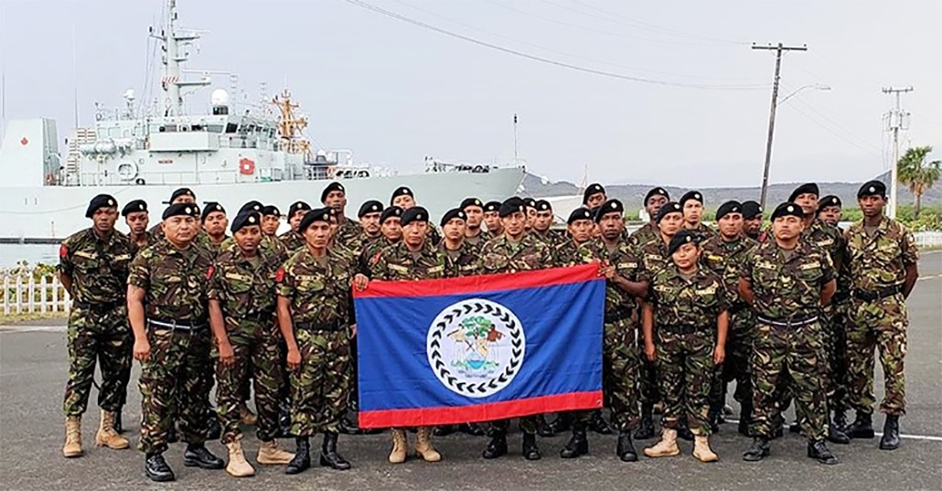 Belize Defence Force Participates in Tradewinds Exercise 2019