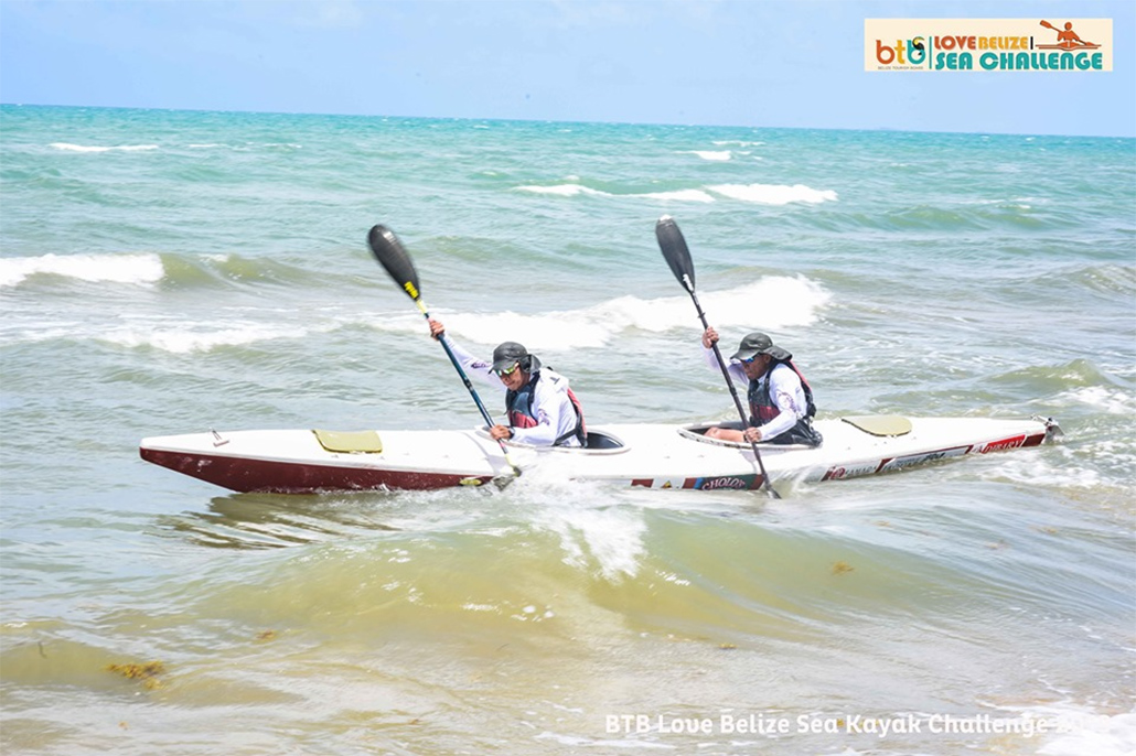 BTB holds its second annual BTB Love Belize Sea Challenge