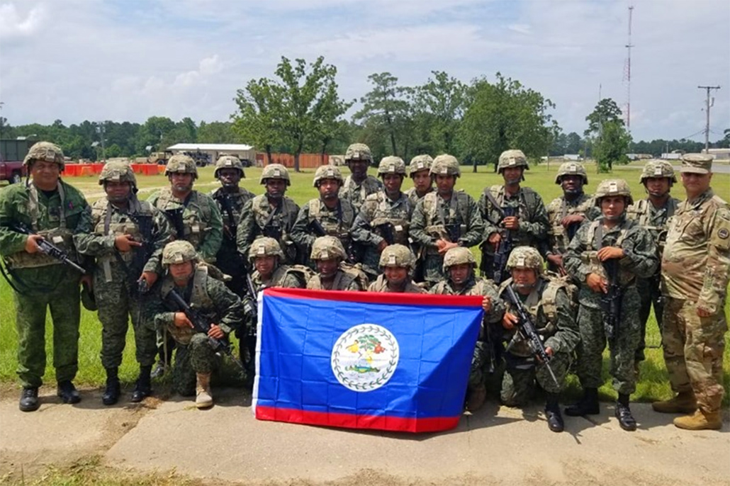 BDF Soldiers Participate in Military Exercises in Louisiana, U.S.A.