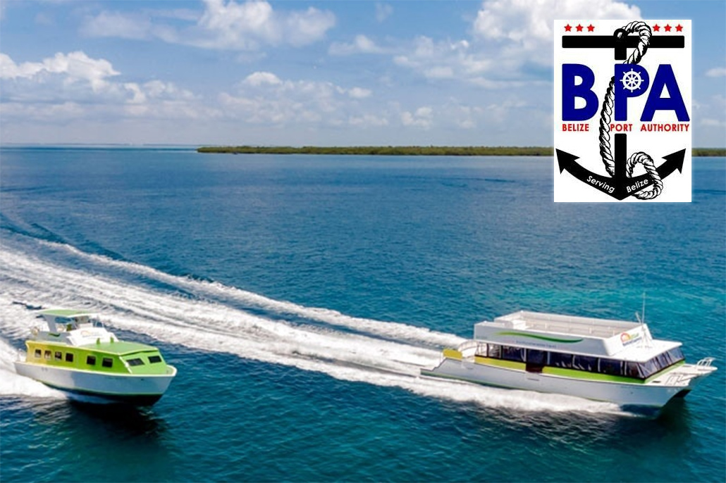 Belize Port Authority Requesting Mandatory Passengers Manifests for Water Taxis