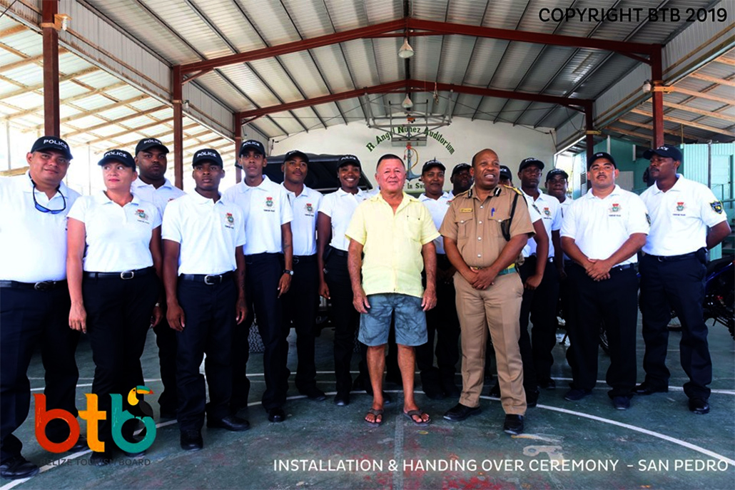 New Tourism Police Ready to Patrol on Ambergris Caye