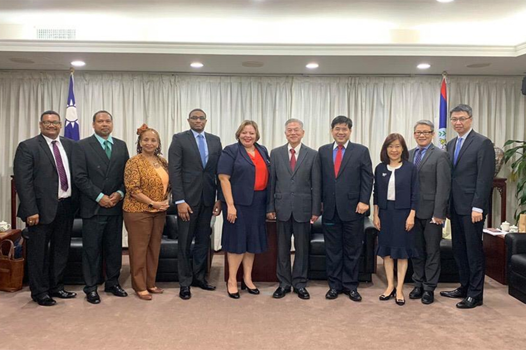 Belize Signs Letter of Intent with the Republic of China (Taiwan) Formalizing Trade Relations