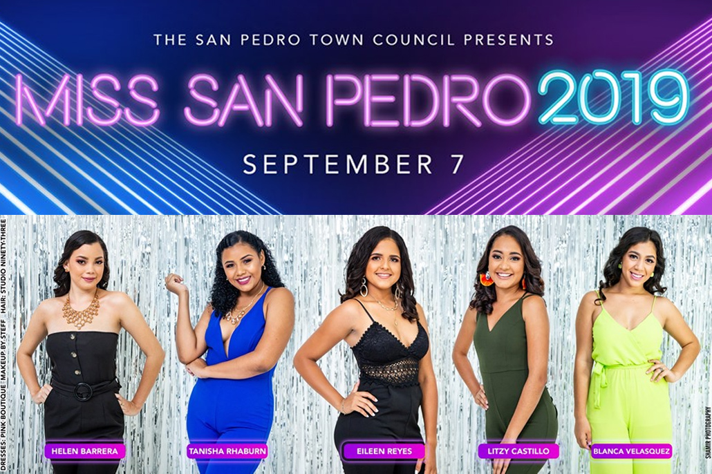 Introducing the Miss San Pedro Pageant Delegates