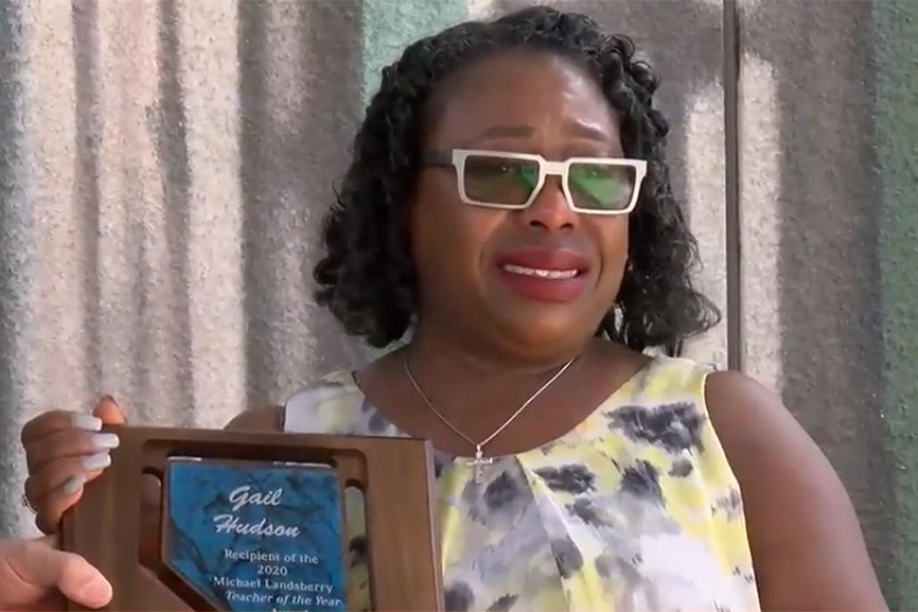 Belizean Gail Hudson Named 2020 Nevada Teacher of the Year