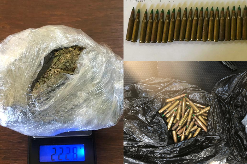Drugs and Ammunition Found in San Juan Area