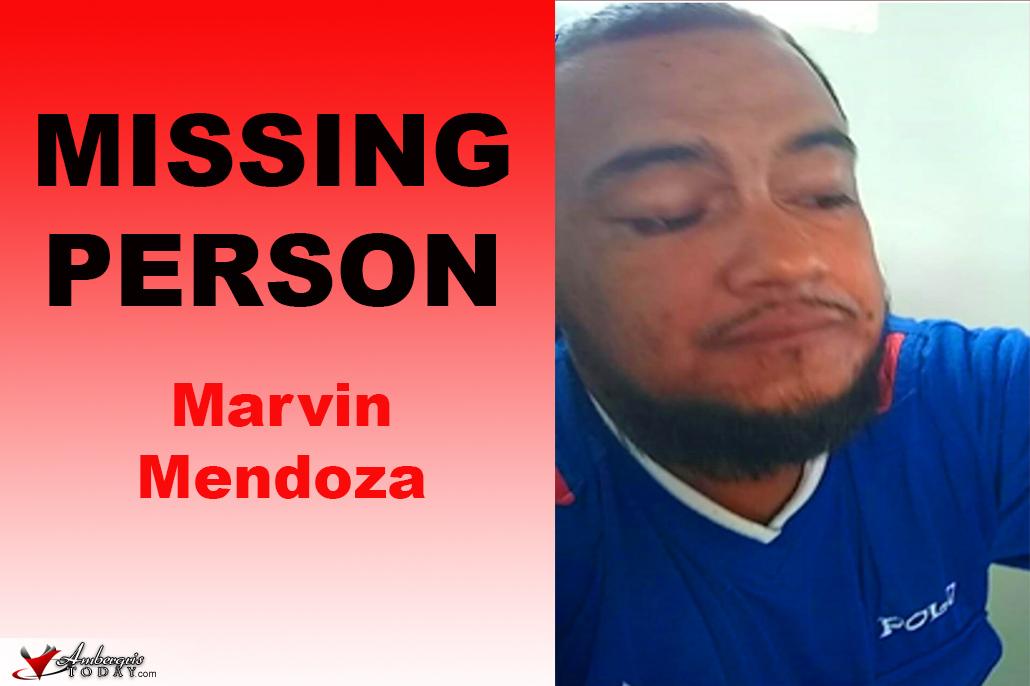 Missing Person: Marvin Antonio Mendoza