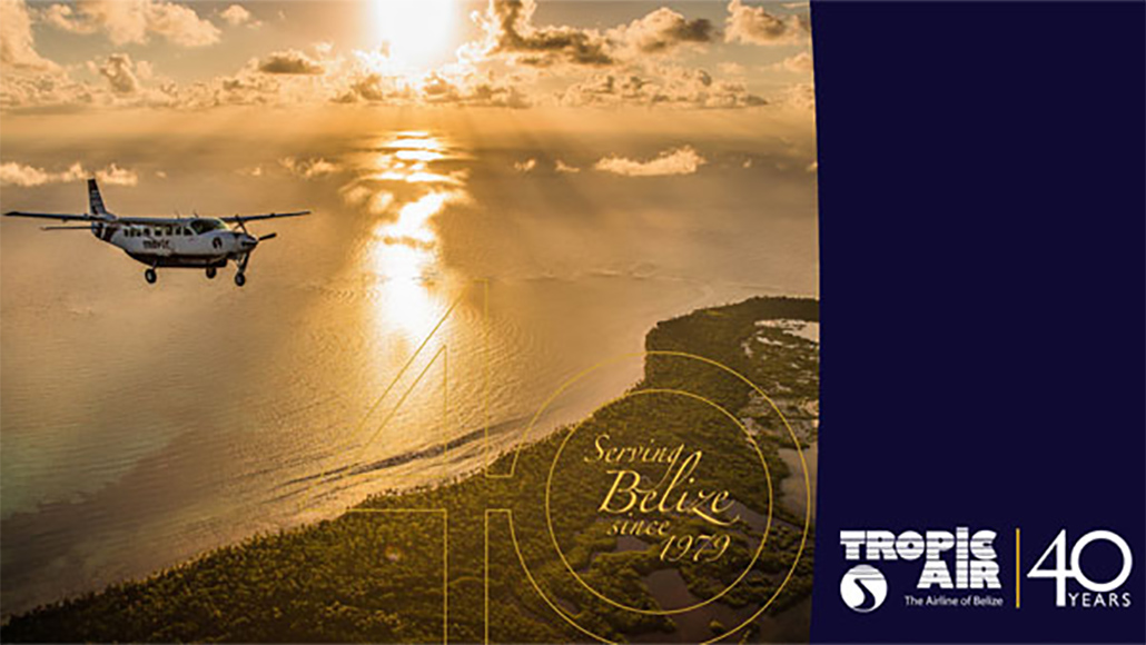 Tropic Air Celebrates 40 Years Of Service to Belize