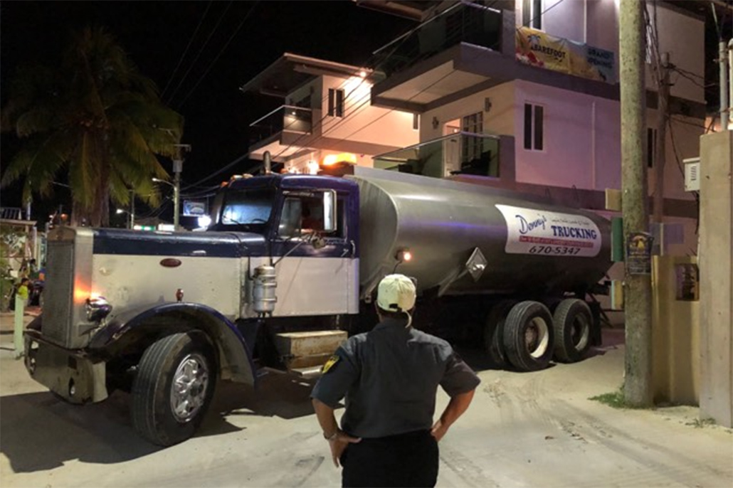 Caye Caulker Experiencing Water and Electricity Crisis