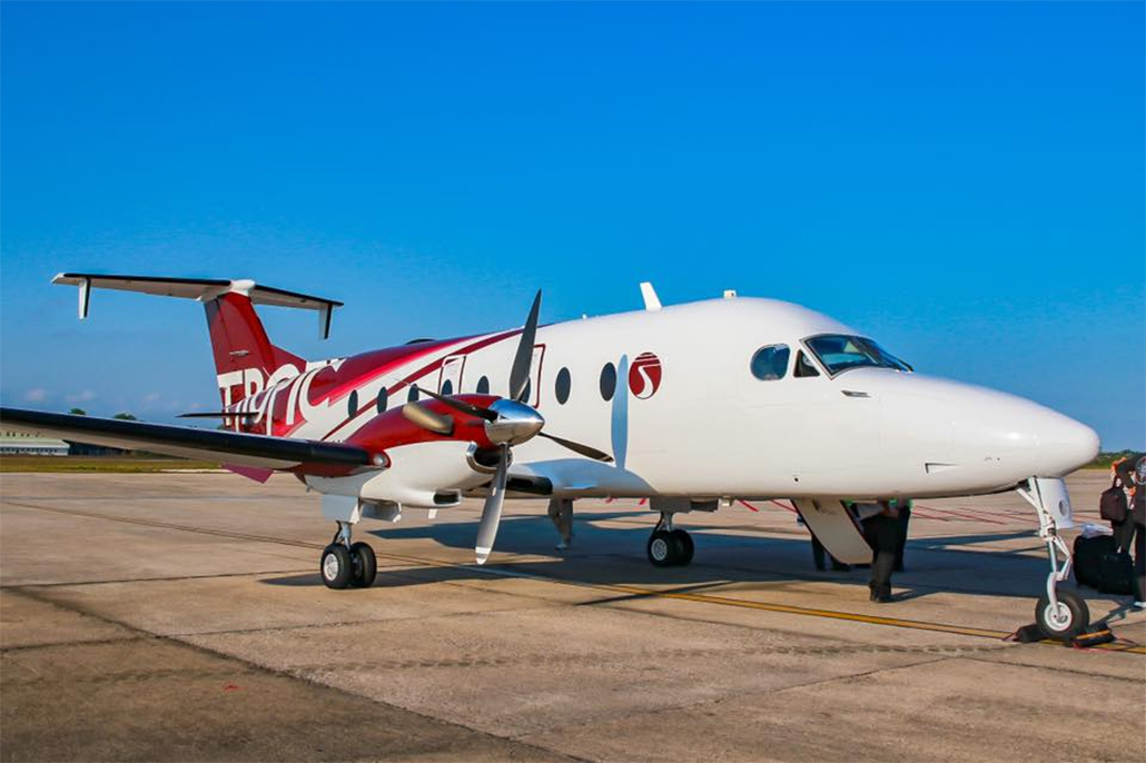 Tropic Air Accepts Delivery Of A Beech 1900D Aircraft