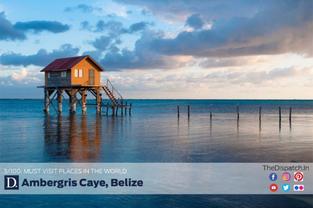 "Ambergris Caye in 3rd Place as ""Must Visit Places in the World"""