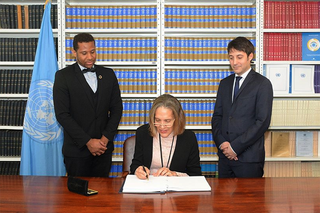 Belize Signs Treaty on the Prohibition of Nuclear Weapons
