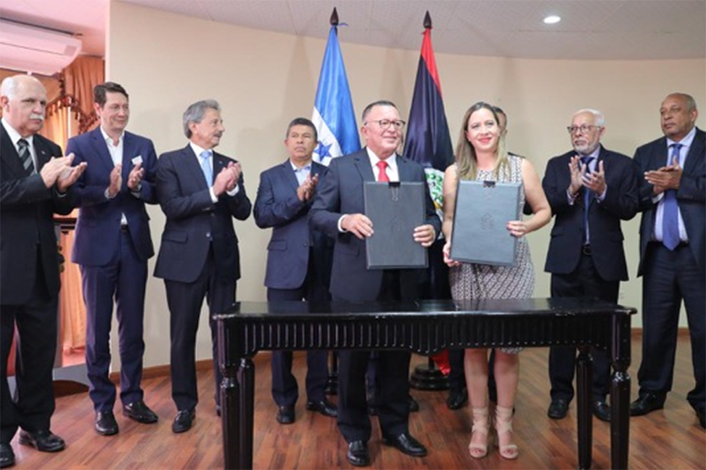 Belize and Honduras Sign Air Transport Services Agreement