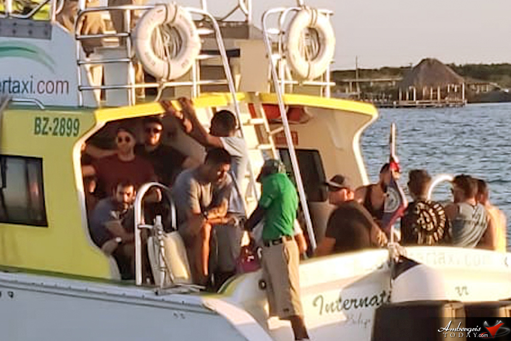 Fifty Boat Passengers Returned to Mexico from San Pedro Amidst COVID-19 Concerns