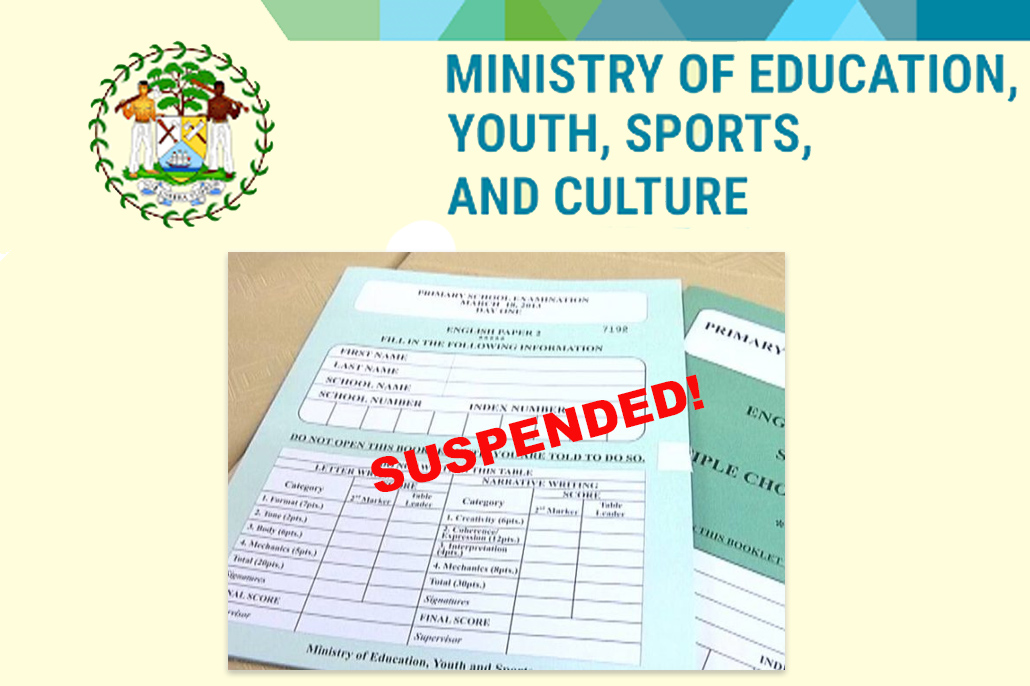 Ministry of Education Suspends Primary School Examination (PSE)
