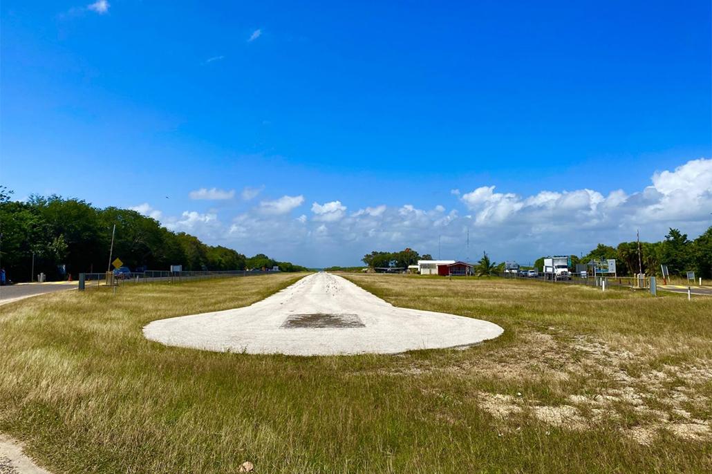 Placencia Airstrip Closing For Renovations