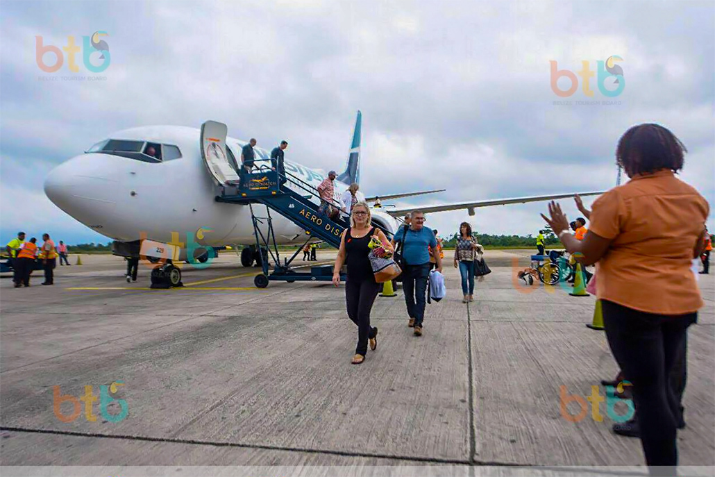 Belize Tourism Board Advises Stakeholders on Airlines Flight Suspensions to Belize