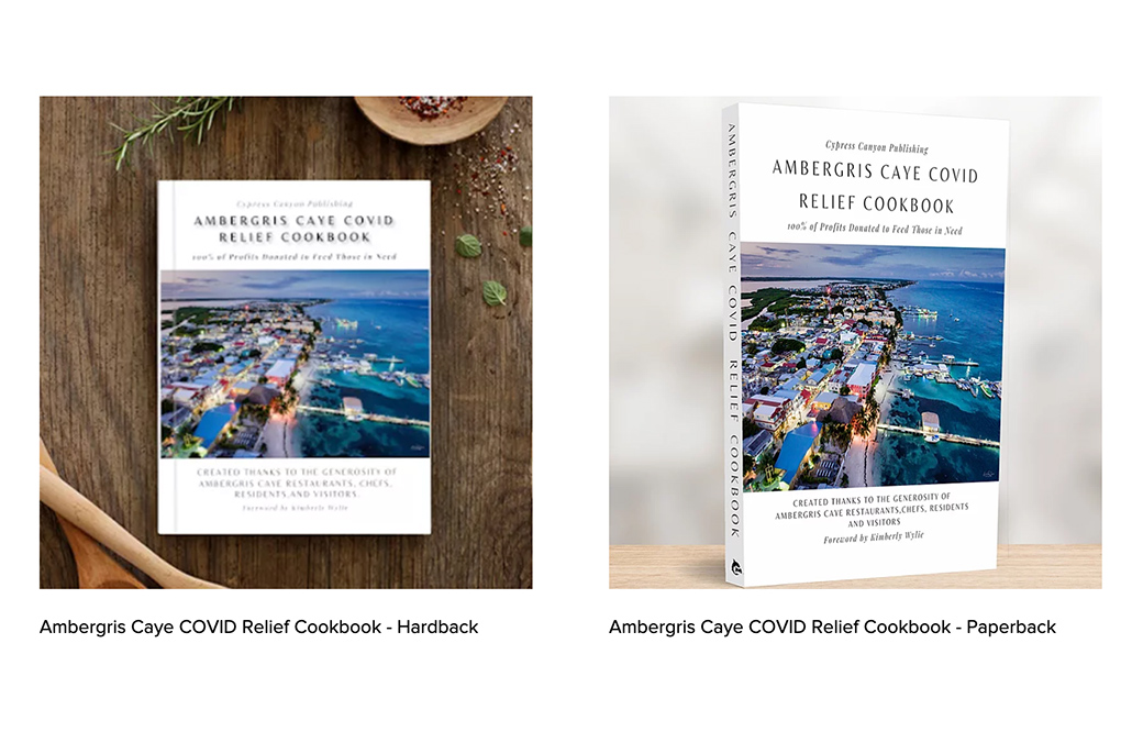 Ambergris Caye Cookbook Released to Raise Funds for Feeding Program