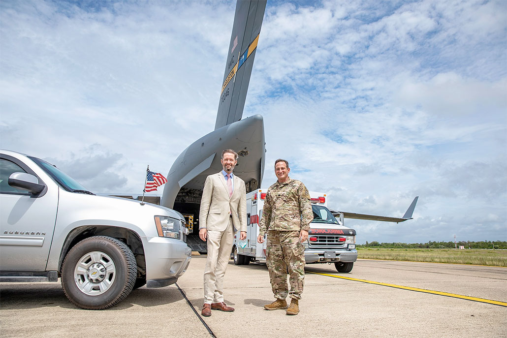 US Donates Two Ambulances for San Ignacio and Santa Elena