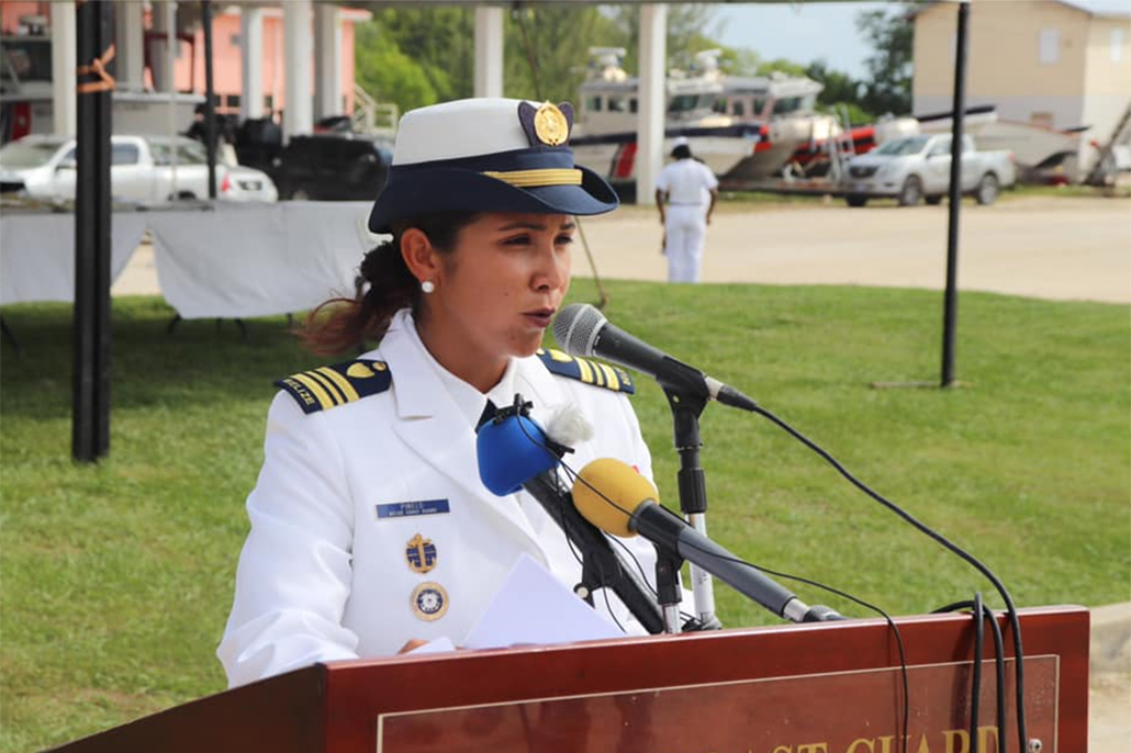 History in the Making as Female Officer Takes Hold of Acting Vice Commandant