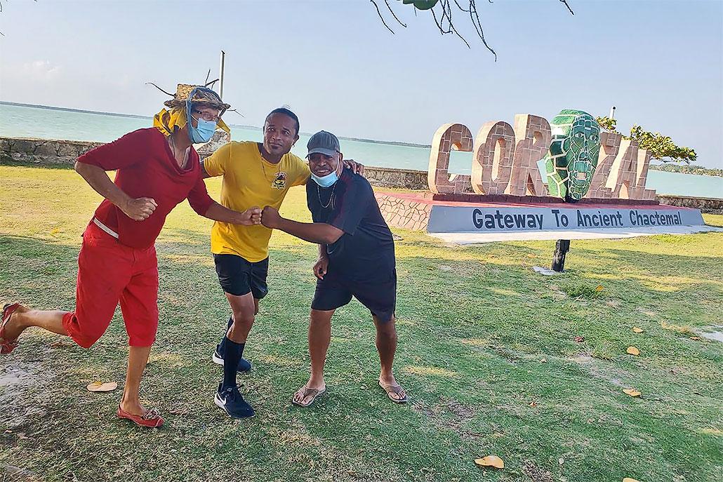 Ian 'Lion' Gordon is Inspiring Belizeans to Move with Marathon Tour