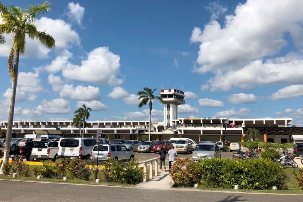 All Staff Members at Philip Goldson International Airport Isolated