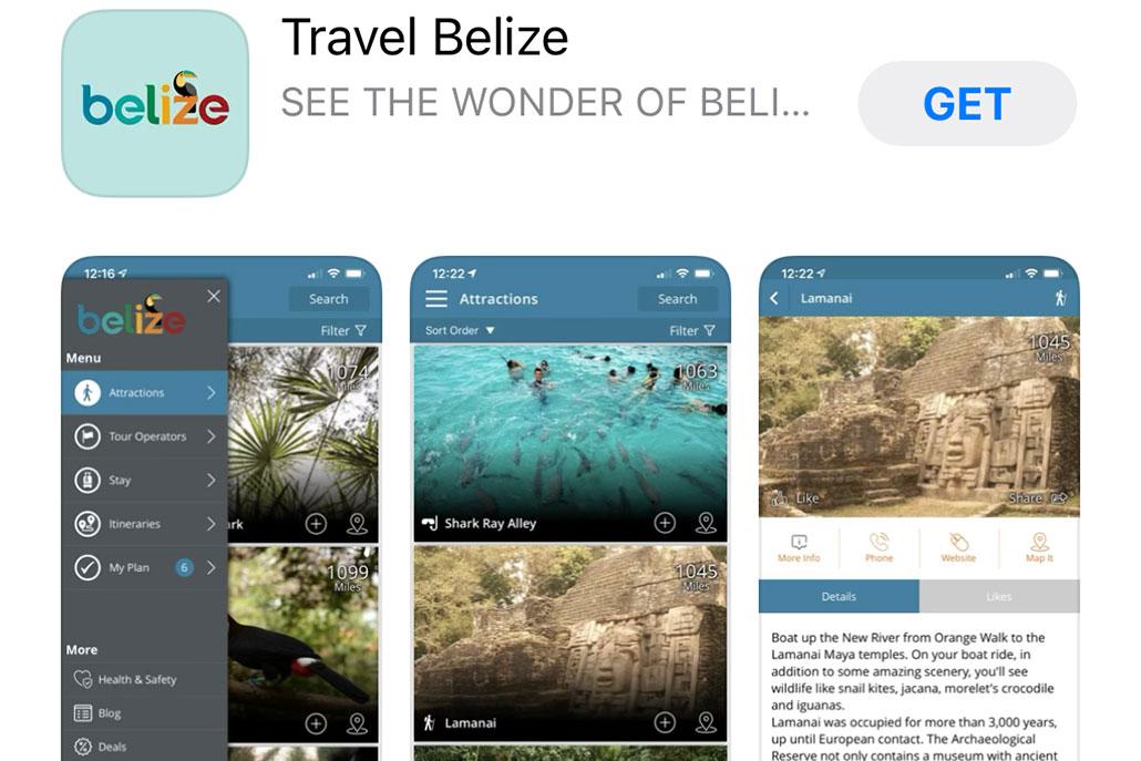 Belize Tourism Board Launches Travel Belize App