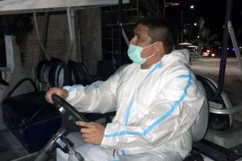San Pedro Mayor Nunez Works Beyond the Call of Duty