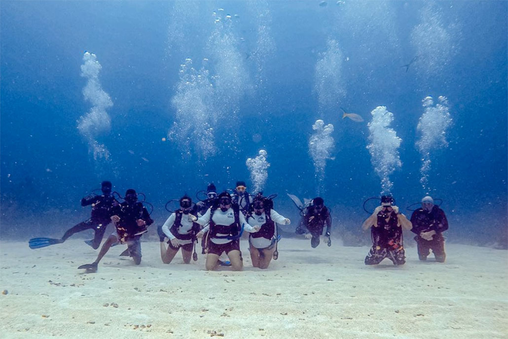 Into the Blue with Amigos del Mar Divers