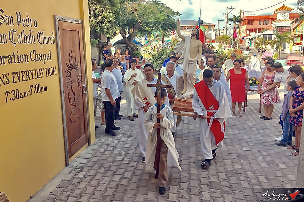 San Pedro Celebrate the Resurrection of Jesus Christ