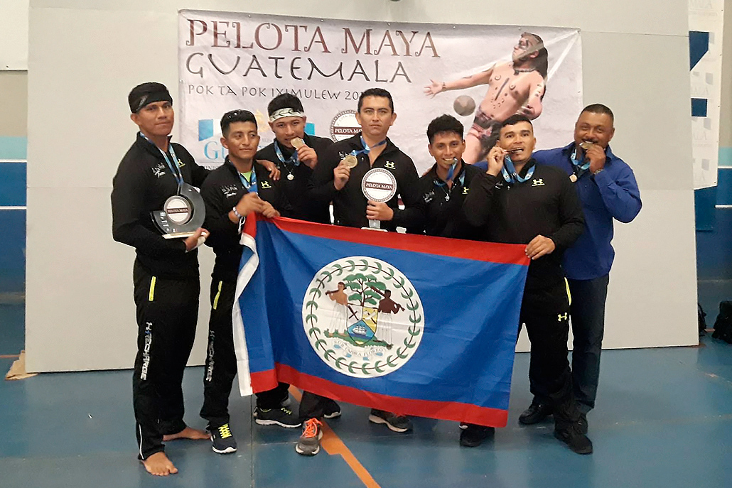 Belize Celebrates Win at Regional Maya Ball Game Tournament