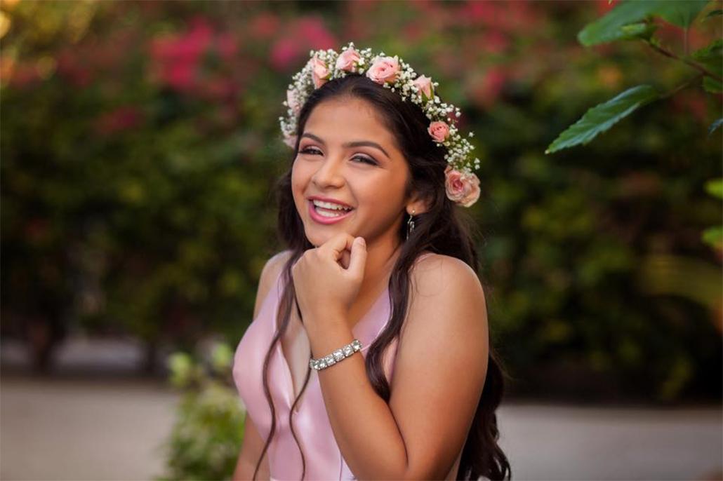 Vivian Marin Celebrates Her 15Th Birthday
