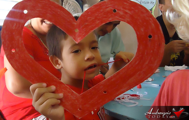 ABC Pre-School Valentine's Art