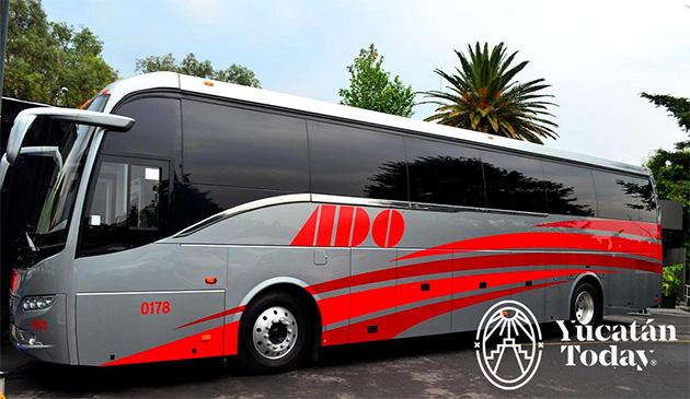 ado bus line upgrades buses on belize mexico route. Black Bedroom Furniture Sets. Home Design Ideas