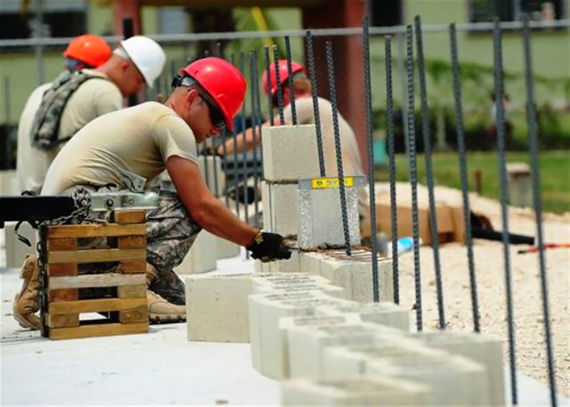 US Air Force Assists in School Construction in Belize