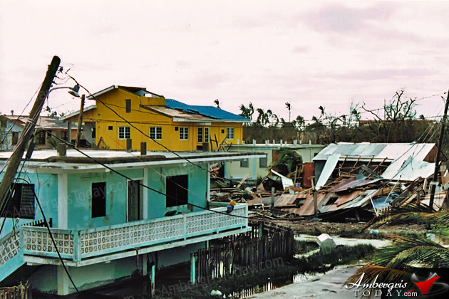 The Fury of Hurricane Keith in 2000
