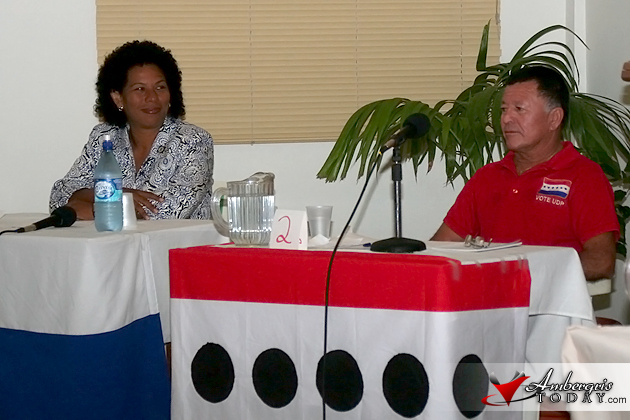 Belize Rural South Candidates on Debate