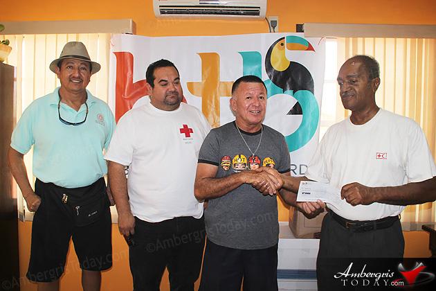 Belize Tourism Board Donates $5k to San Pedro Fire Victims